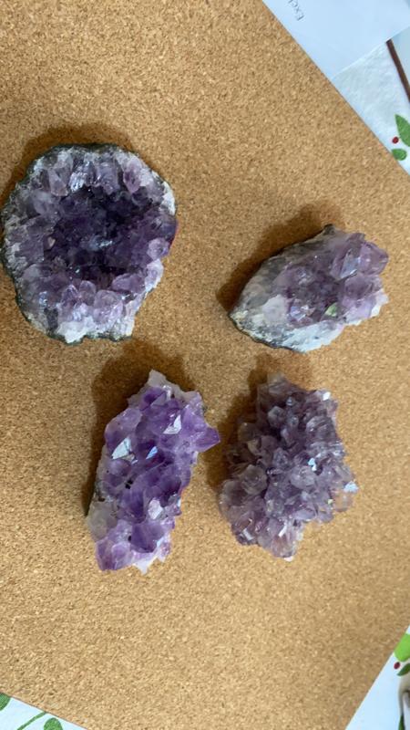 Amethyst Cluster 102 - 121g