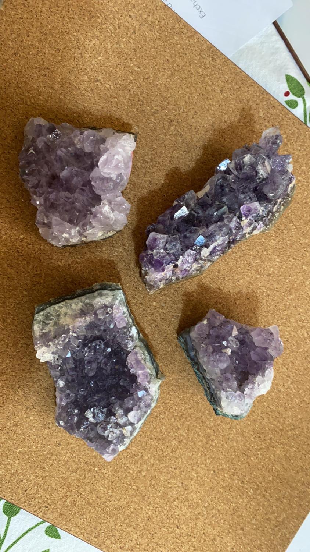 Amethyst Cluster 166 - 178g