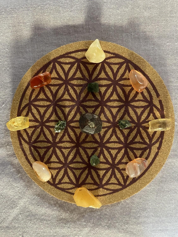 Mini Grid Kit: Sacral Chakra Healing