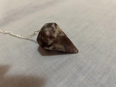 Lepidolite Pendulum