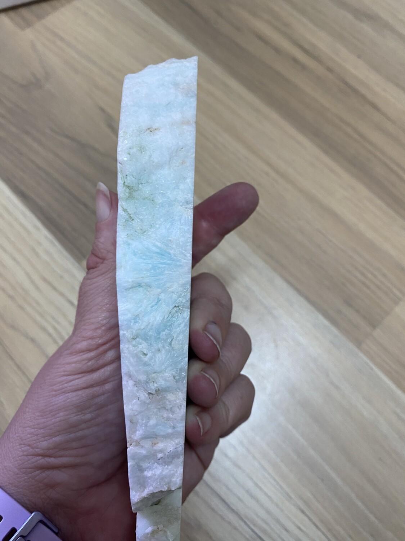 Hemimorphite Raw Slab Slice