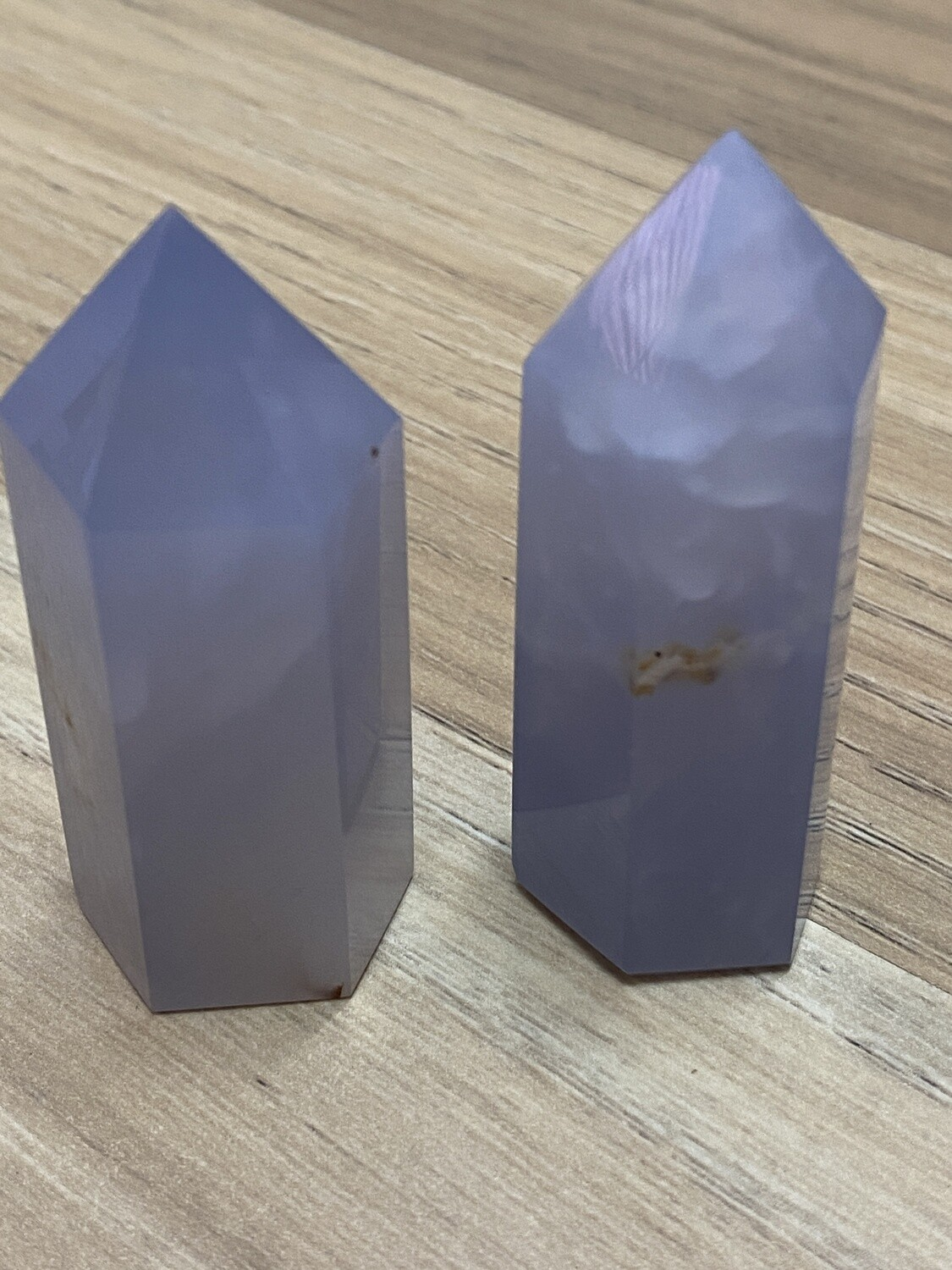 Blue Chalcedony Tower