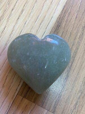 Aventurine (Green) Heart