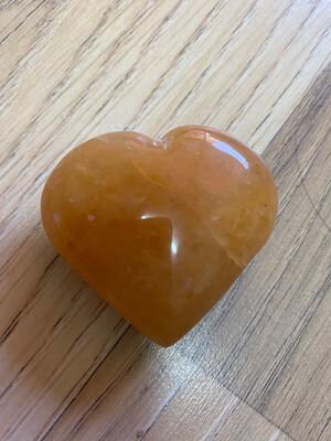 Yellow Aventurine Heart