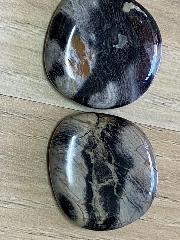 Silverleaf Jasper palmstone