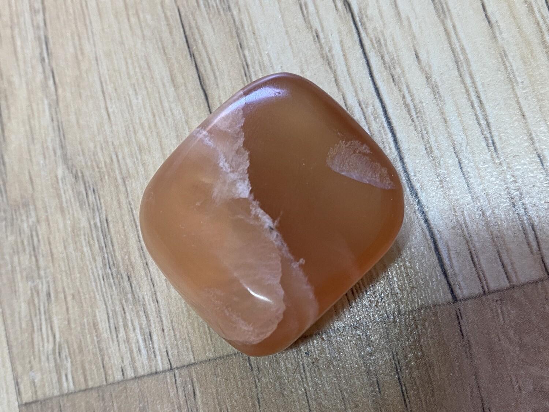 Red Honey Calcite LARGE TUMBLE