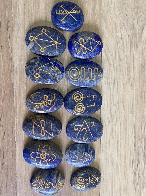 Reiki Seichem (based on Tera Mai System) Symbols Lapis Lazuli