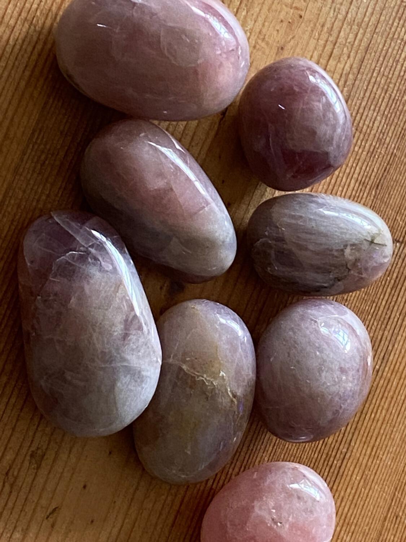 Plum (Purple) Rose Quartz Medium