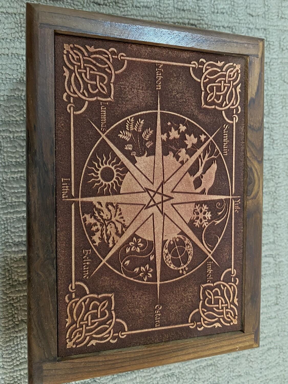 Pagan Calendar Tarot/Oracle Card Box