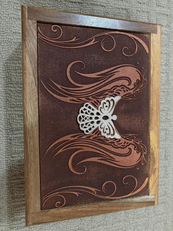 Metal Angel Design Tarot/Oracle Card Box