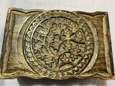 Tree Design Tarot/Oracle Card Box