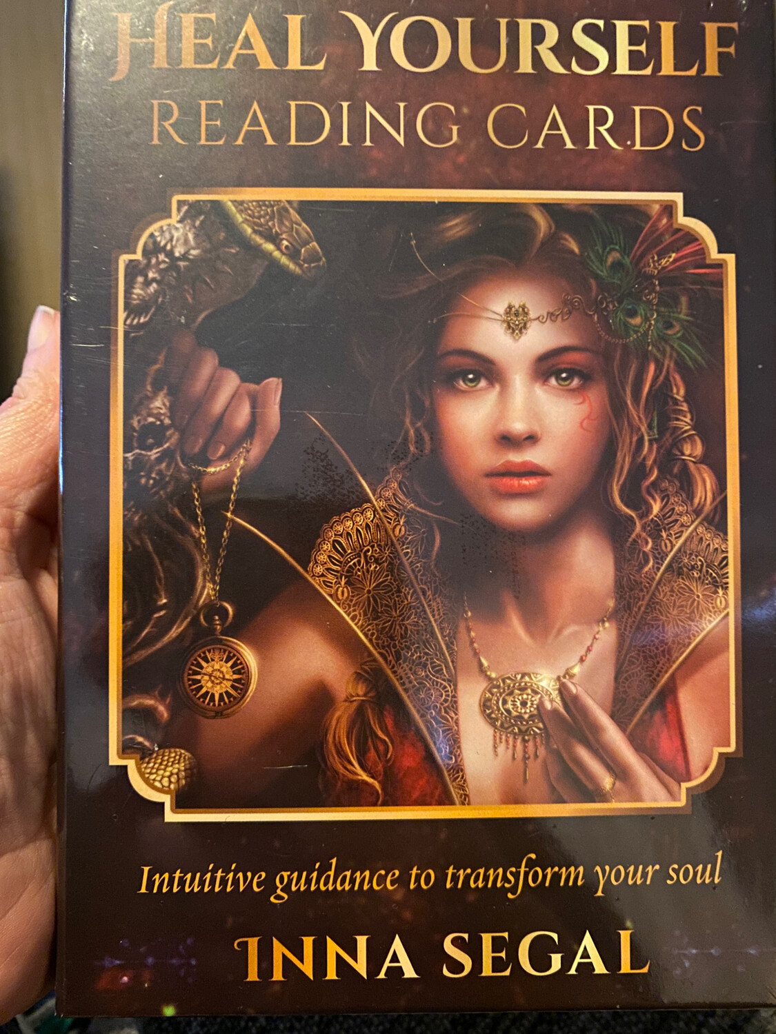 Heal Yourself Reading Cards By Inna Segal