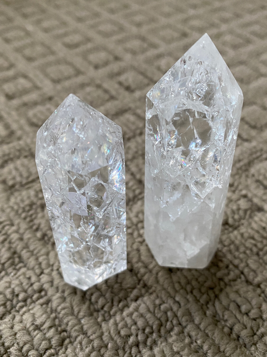 Clear Crackle