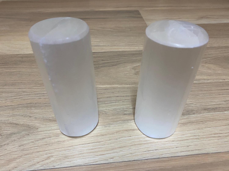 Selenite Set of 2 Harmonisers