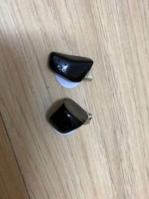 (Black) Tourmaline tumble pendant