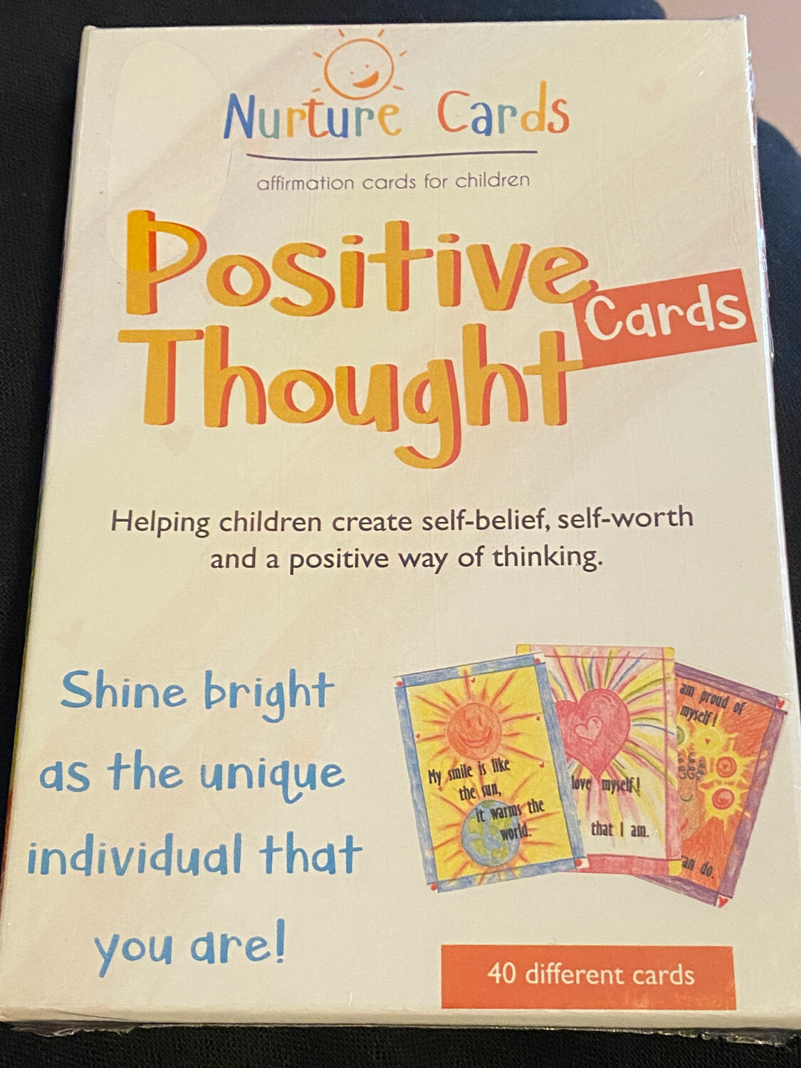 Positive Thought Cards: Affirmation Cards for Children