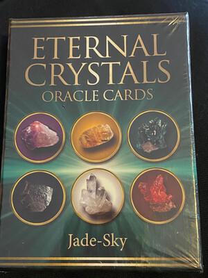 Eternal Crystals Oracle Cards by Jade Sky