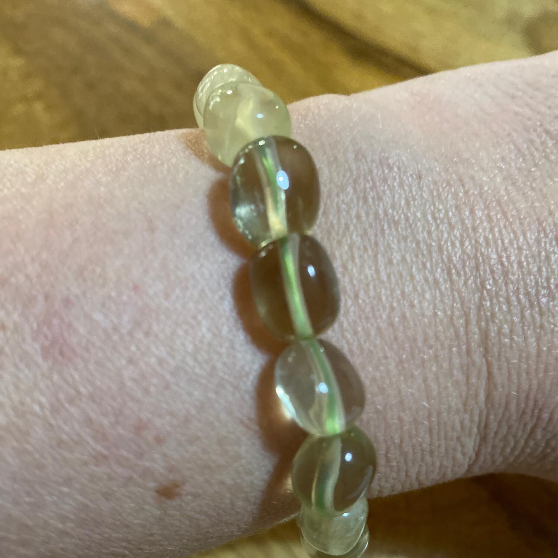 Lemon Quartz Bead Bracelet
