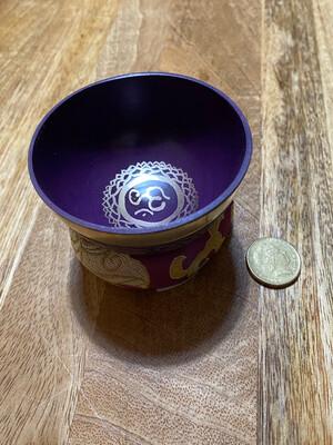 Tibetan Singing Bowl: Crown Chakra