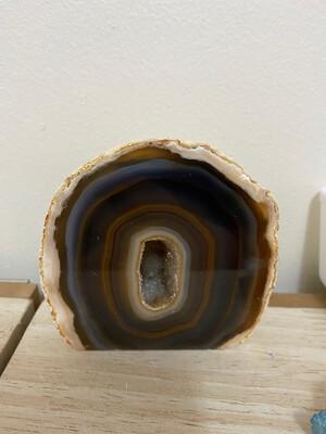 Brown Agate Geode