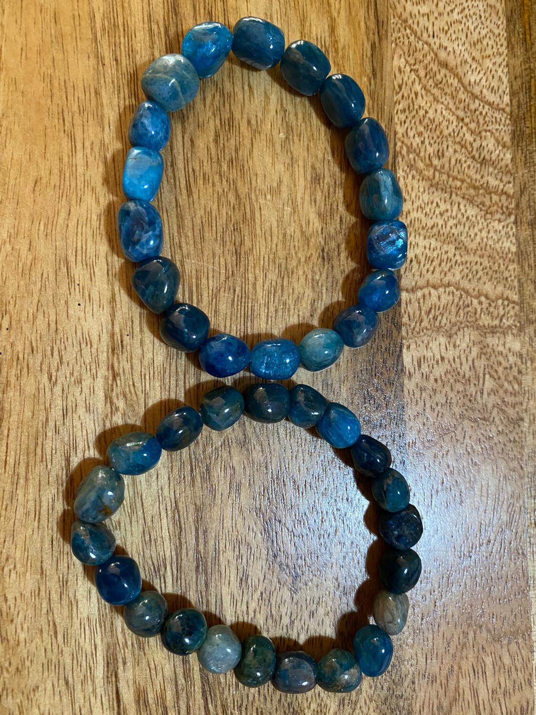 Apatite Bead Bracelet