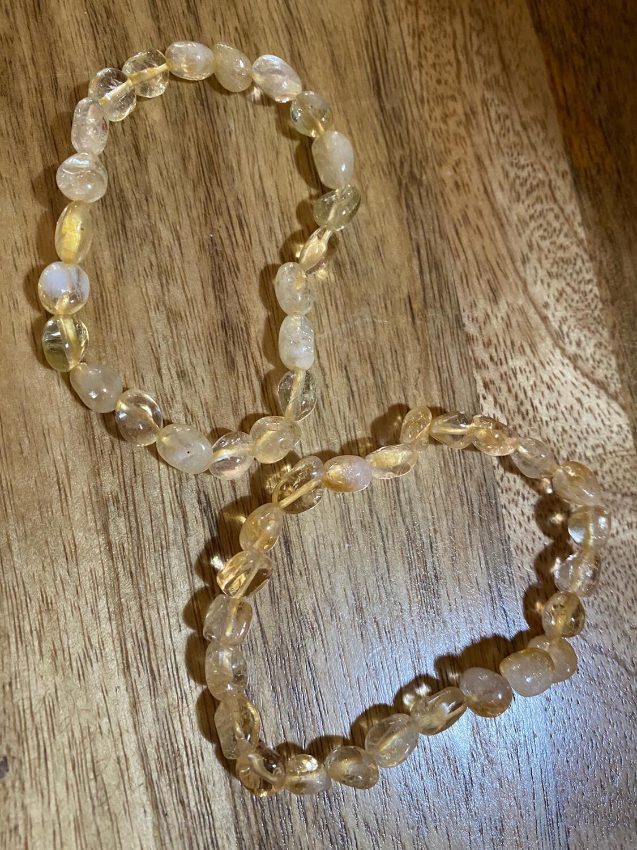 Citrine Bead bracelet