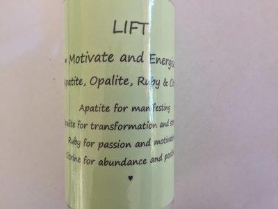 250ml Plastic Bottle with Atomiser LIFT