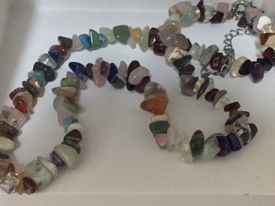 Crystal Chip Necklace