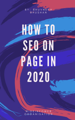 Best On-Page SEO Techniques & Factors to Use in 2020