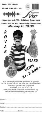 Bingobong RøvarFlaks