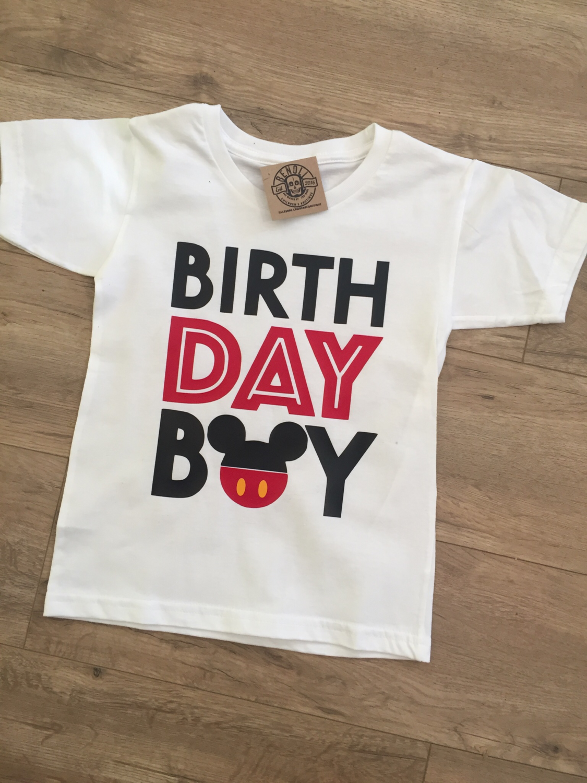 Mickey Mouse Birthday Boy