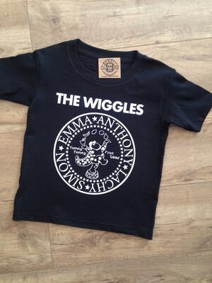The Wiggles ramones-inspired logo