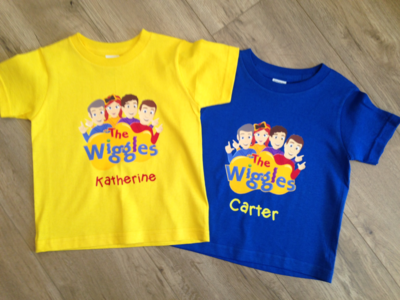 The Wiggles Character Logo
