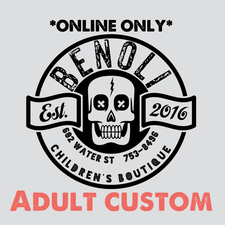Adult Custom Crewneck Sweater