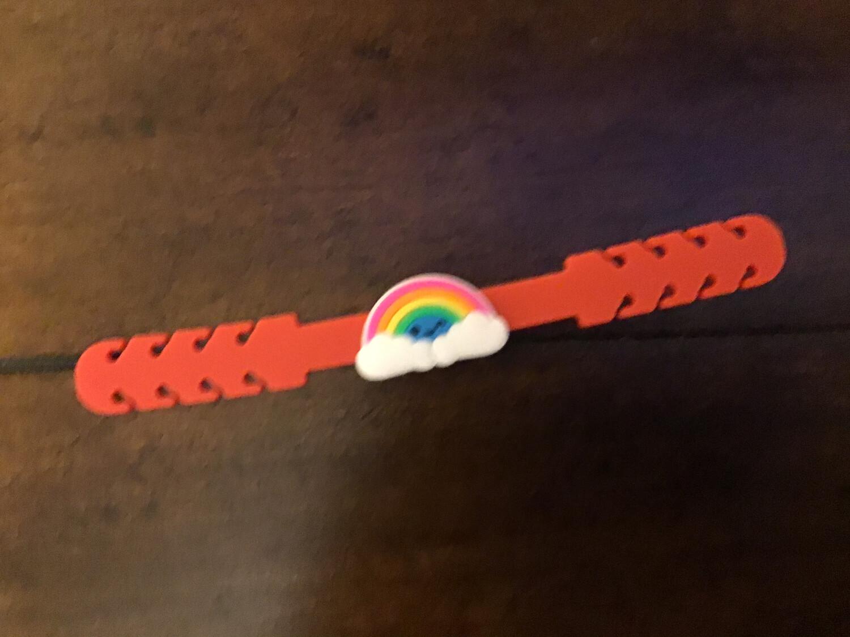Rainbow Mask Holder