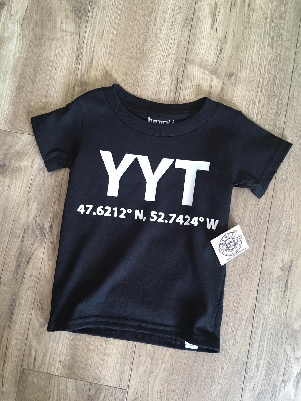 YYT airport code Tee