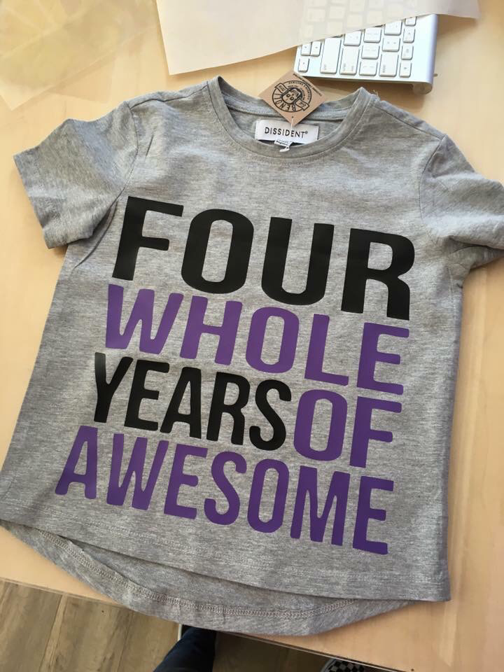Whole Years of  Awesome Birthday Tee