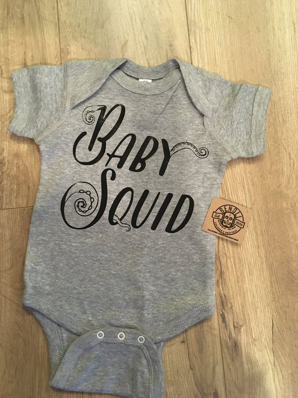 Baby Squid Onesie