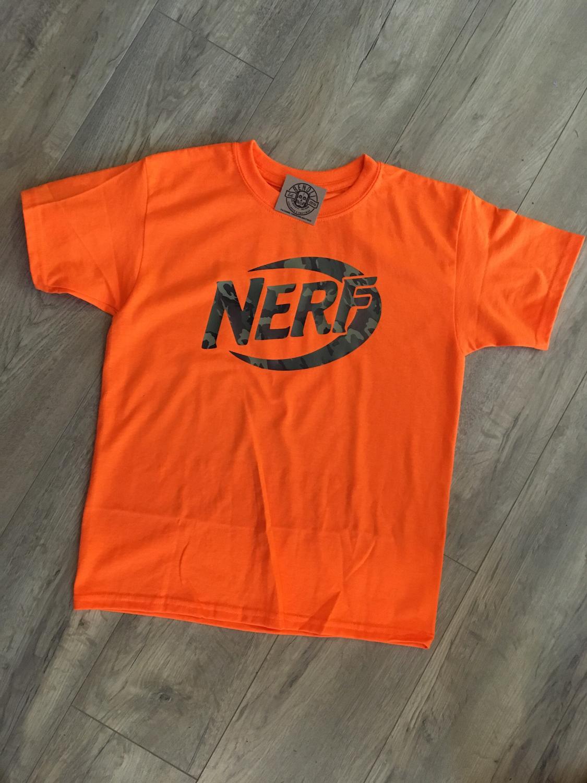 Nerf Birthday Tee (Front & Back Print)