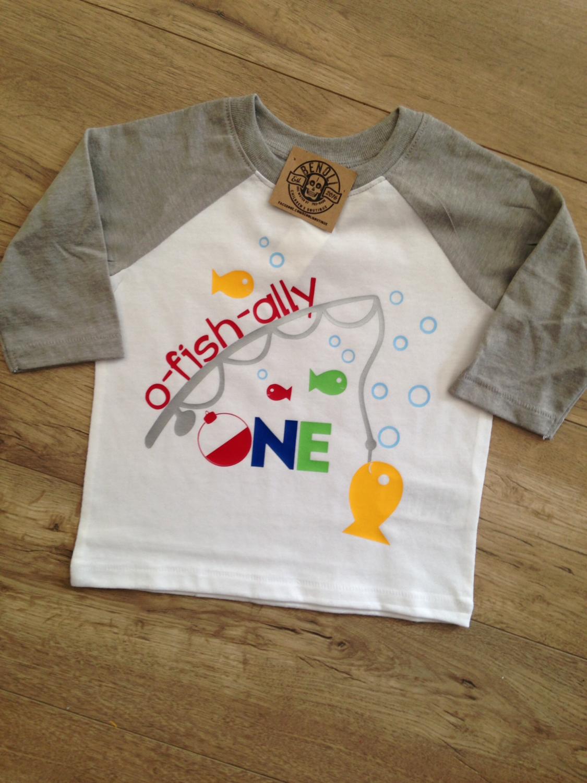 O-Fish-Ally birthday tee