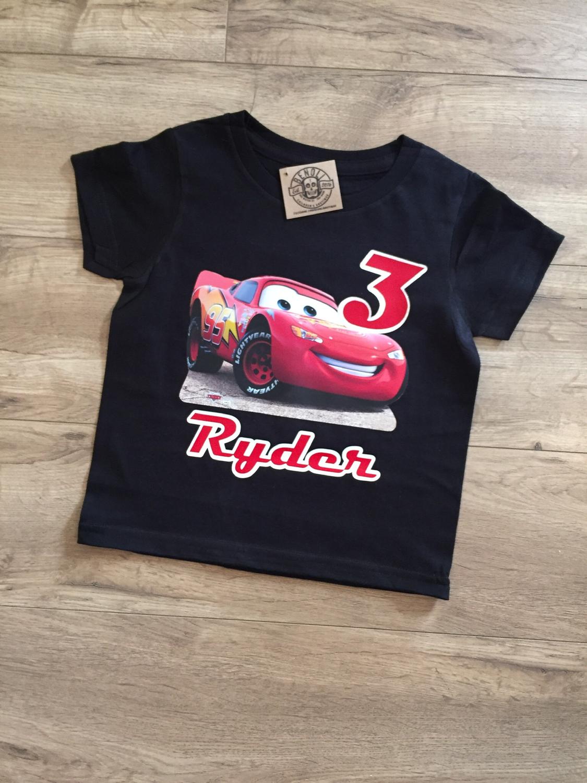 Cars (McQueen) Birthday Tee