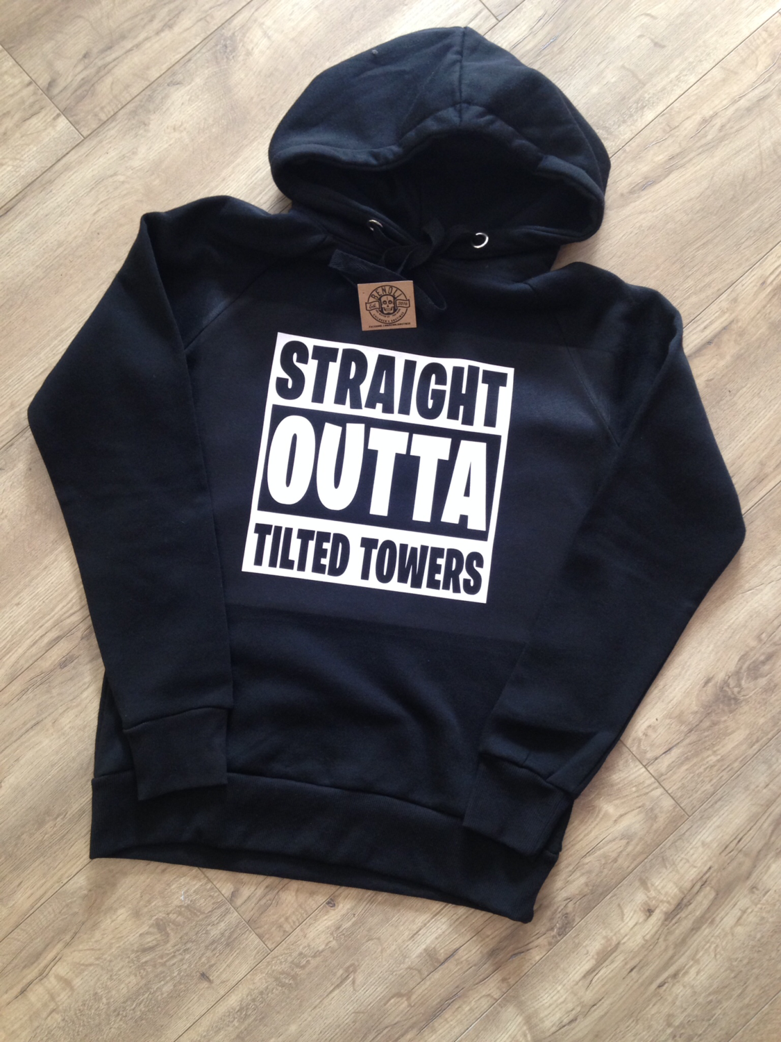 Straight Outta Tilted Towers Hoodie (Adult)