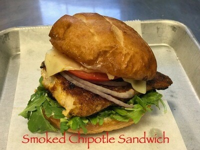 ​Smoked Chipotle Sandwich w/side