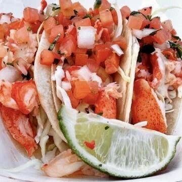 Maine Lobster Tacos
