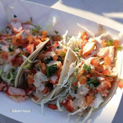 Fresh Maine Lobster Tacos
