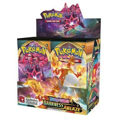 Pokemon TCG: Sword & Shield Darkness Ablaze Booster Box