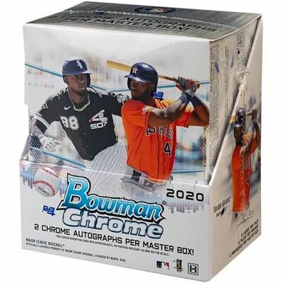 2020 Bowman Chrome Hobby Box