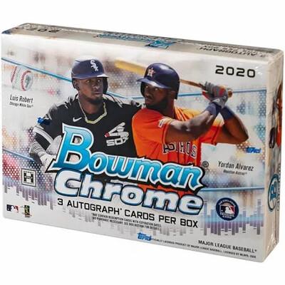 2020 Bowman Chrome HTA Choice Box