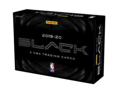 2019-20 Panini Black Hobby Box