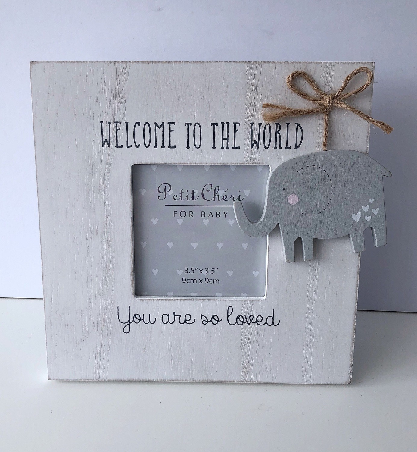 Welcome to the world baby photo frame